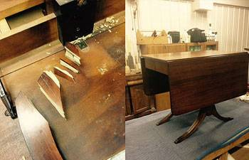 We Pride Ourselves In Our Knowledge Of Antique Fine Furniture Restoration Repair